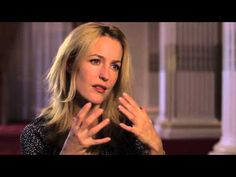 "Interview with Gillian Anderson, on police drama ""The Fall"""