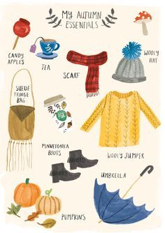 My Autumn Essentials - Lisa Barlow (Milk & Honey).