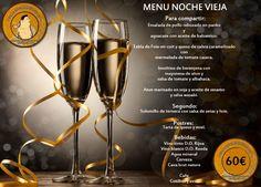 Buenos días !! Os dejamos los menús del día de Navidad y Noche vieja !!! Os esperamos ! 😉 #laMironaValencia #restauranteValencia