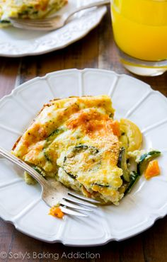 110 Calorie Crustless Veggie Quiche