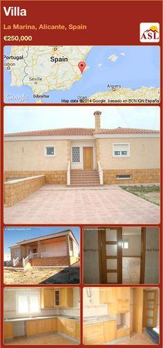Villa in La Marina, Alicante, Spain ►€250,000 #PropertyForSaleInSpain