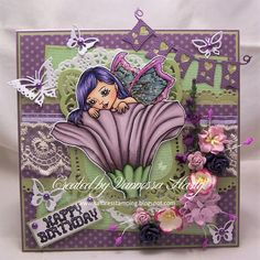 Saffire's Stamping: Whimsy Stamps Digi Team New Release Post - Fairy Daydream