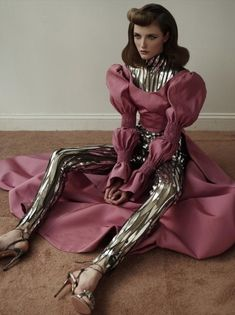 Vlada Roslyakova by Ace Amir for Haunted Magazine 'The Icons' Issue