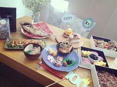 お食い初めでした✿ | Maison de Kico ❀ Blog Entry, Table Settings, Photoshoot, Baby, Home, Photo Shoot, Place Settings, Baby Humor, Infant
