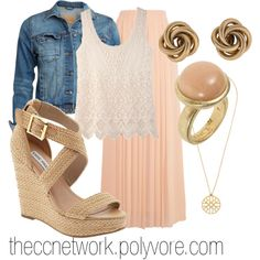 Cute and Romantic First Date Outfit by theccnetwork on Polyvore