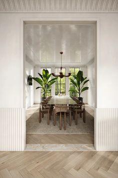 Home Interior Design, Interior Architecture, Interior And Exterior, Interior Decorating, Dining Room Inspiration, Interior Inspiration, Villa, Home Living, Living Spaces