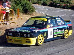 'Monchu' con el BMW M3 E30 de Automercado en la Subida a Riego de Ambrós de 2004, puntuable para el Campeonato de España