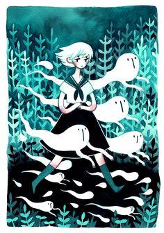 Ghost Tricks by heikala.deviantart.com on @deviantART