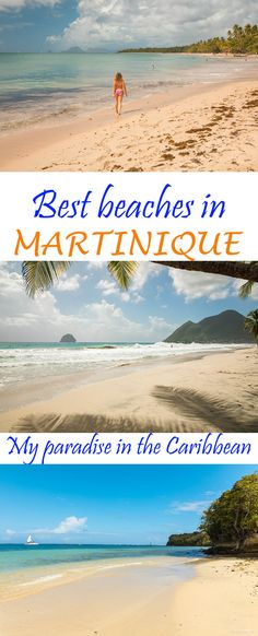 Looking for an affordable Caribbean destination with direct flights from the US & Canada ? Consider Martinique: this French paradise has it all. Top things to do and the very best beaches in Martinique, costs and useful tips to plan your beach holiday in Martinique. #martinique #caribbean