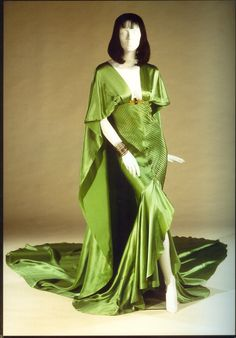 """Claudette Colbert, """"Cleopatra,"""" Paramount, 1934, Designed by Travis Banton The Collection of Motion Picture Costume Design: Larry McQueen"""