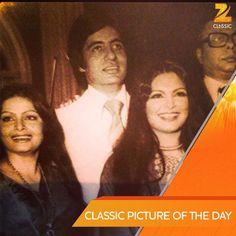 Rakhee with Amitabh Bachchan, Parveen Babi & Pancham Da