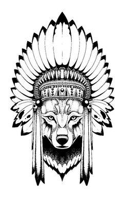 Night Wolf tattoo