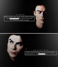 TVD ❀ Damon Salvatore. I love him, fave ❤️️