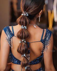 Hair: Mehak Kawatra   📸: Kulwant Singh Mararr   Bridal hair   Hairstyles for brides   Braid for brides   Hair accessories   #indianbride #indianwedding #bridalhair #bridalhairstyles #bridalhairaccessories #bridetobe #indianwedding #bridalfashion #weddingtrends #bridaltrends #wittyvows Indian Wedding Hairstyles, Tiara Hairstyles, Down Hairstyles, Stylish Hairstyles, Sabyasachi Bride, Bridal Hair Inspiration, Bride Hair Accessories, Wedding Trends, Bridal Style