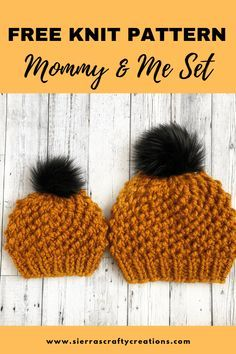 Beanie Knitting Patterns Free, Knit Beanie Pattern, Knit Headband Pattern, Knitting Machine Patterns, Baby Hats Knitting, Knitting For Kids, Loom Knitting, Knit Patterns, Free Knitting