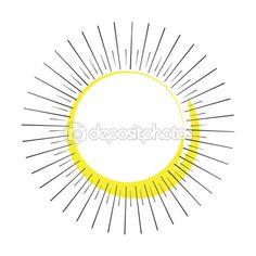 Sun rays frame. Vector illustration. Hand Drawn. Vintage style. Vector vintage frame. Hand Drawn. For Art, Print, Scrapbook, Web design. — Stock Vector © sofiartmedia.gmail.com #118150912