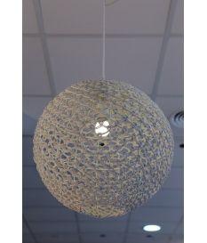 Lámpara techo rattan
