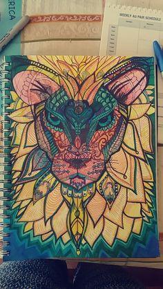 #lion #sharpieart #doodle