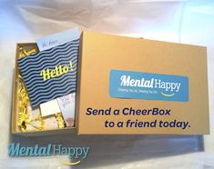 This Year Give the Gift of Cheer! Send a Cheerbox to a Friend Today! #HolidayGiftIdeas