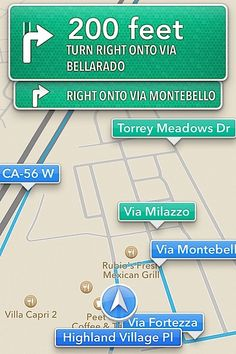EXCLUSIVE: First iOS6 Turn By Turn Map Screen Photos And Impressions. Will you Miss Google Maps? - AutoSpies Auto News