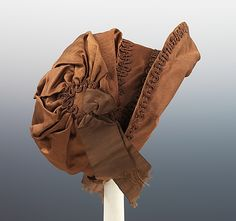 c.1815 British silk bonnet