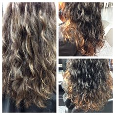 Deva curl and a fresh color!! Amazing shine and gorgeous curls!