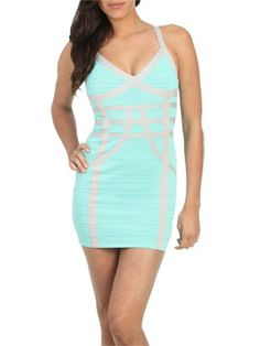 V-nech Bandage dress