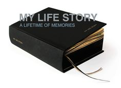 Lifetime Diary ~ My Life Story by Suck UK ~ 100 year journal / scrapbook / diary