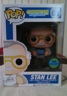 Stan Lee Marvel Pop Figure Exclusive