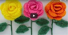 Crochet a Beginner Easy Flower