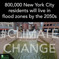 New maps from the Federal Emergency Management Agency project that more than 800,000 NYC residents will live in the 100-year flood plain by the 2050s, more than double the current number. In the last 100 years, sea levels around NYC have risen about 1 foot. http://www.nytimes.com/2013/06/11/nyregion/new-york-city-faces-increasing-risk-from-climate-change-new-data-show.html?_r=1&