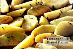 FABULOUS Oven Roasted Potatoes