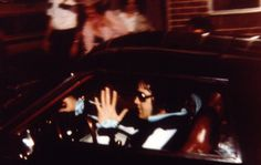 Last time he entered the gates of his beloved Graceland ...hours before his passing :(