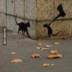 Cool street art.