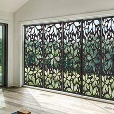 Architecture House Discover e-Joy Laser Cut Metal Privacy Screen Outdoor Screens, Garden Privacy, Privacy Screen Outdoor, Deck Privacy Screens, Privacy Wall On Deck, Privacy Trellis, Privacy Planter, Ikea Outdoor, Outdoor Rooms