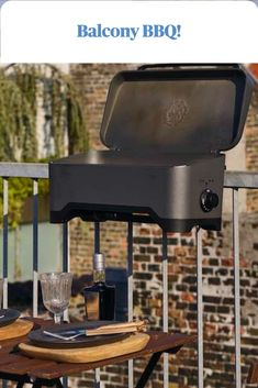 Enjoy a BBQ safely on your balcony image @morsouk Balcony, Small Spaces, Bbq, Outdoor Decor, Image, Home Decor, Style, Barbecue, Swag