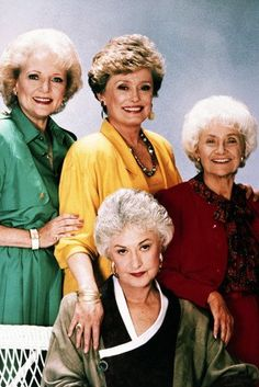 The Golden Girls Rue Mcclanahan, Betty White, Bea Arthur, Estelle Getty Estelle Getty, La Girl, Girl Posters, Betty White, Star Pictures, Old Tv Shows, Vintage Tv, Golden Girls, Ex Girlfriends