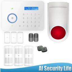 328.00$  Watch here - http://alizxm.shopchina.info/1/go.php?t=32623834698 - Etiger PSTN/GSM burglar Security Home Alarm System CG00328kit Intelligence Outdoor Flash Siren 2PCS Smart RFID Tag 328.00$ #buyininternet