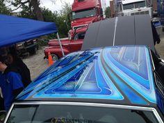 Cutlass Lowrider Roof Paint job