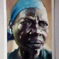 Sexta-feira, #aquarela #watercolor. Workshop em SP: 1-2 de outubro. Inscrições: contato@pleinairstudio.com.br.