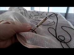 Punch Needle, Louis Vuitton Damier, Needlework, Knitting, Pattern, Accessories, Youtube, Diy Rugs, Homemade Rugs
