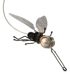 Insect-Shaped Lighting - The Mademoiselle Filou Lamps Look Like a Swarm of Fireflies (GALLERY)