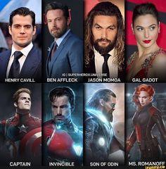 Likes, 90 Comments - Marvel Dc Comics Vs Marvel, Marvel Actors, Marvel Avengers, Funny Marvel Memes, Dc Memes, Henry Cavill, Mundo Superman, Justice League Marvel, Batman