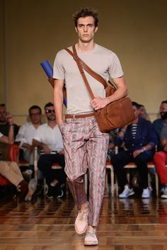 Andrea Incontri.  Fashionable and Functional menswear collection.  Men's Fashion Review: Gucci, Calvin Klein, Prada and More - NYTimes.com #mens #fashion #spring2015 #accessories