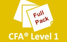 If you are just now starting to study for the Level 1 CFA exam, this guide can help you successfully prepare for the exam in three months. Passing the exam
