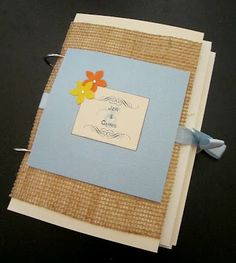 How to diy an adorable album to save special greeting cards need to do this with all those wedding cards jen is a crafting genius m4hsunfo