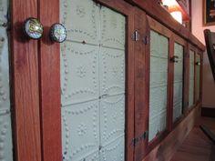 tin inlay cabinets