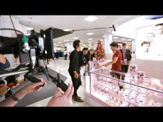 """▶ One Direction Behind-the-Scenes - Macy's Presents """"What's in Store?"""" - YouTube"""