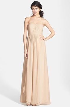 Shop Now - >  https://api.shopstyle.com/action/apiVisitRetailer?id=333491447&pid=uid6996-25233114-59 Women's Jenny Yoo 'Aidan' Convertible Strapless Chiffon Gown  ...