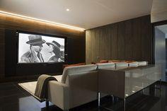 Home cinema by #krinteriordesign  See our blog for more: http://www.kr-interiordesign.com/blog/